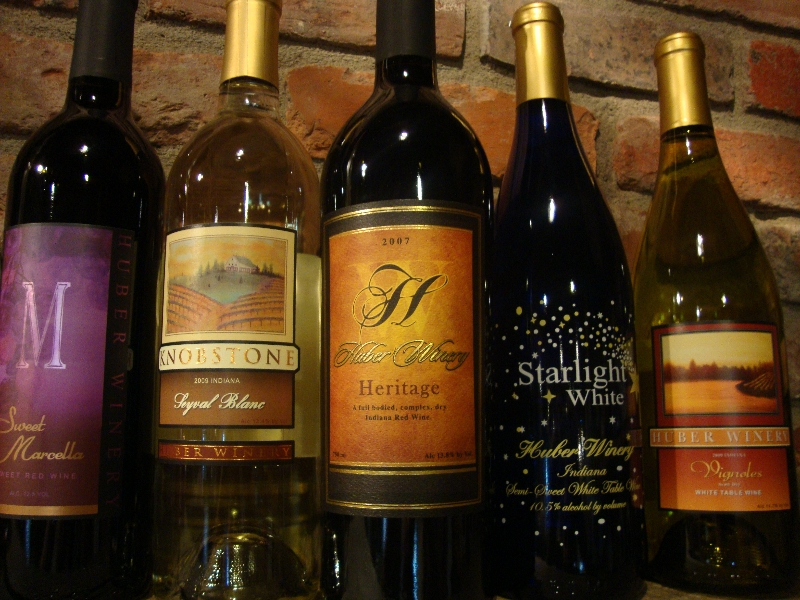 Huber Winery And Vineyard Indiana Uplands Wine Trail